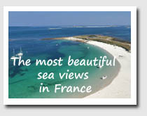 beautiful sea views in France
