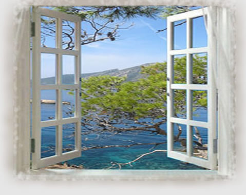 sea view window